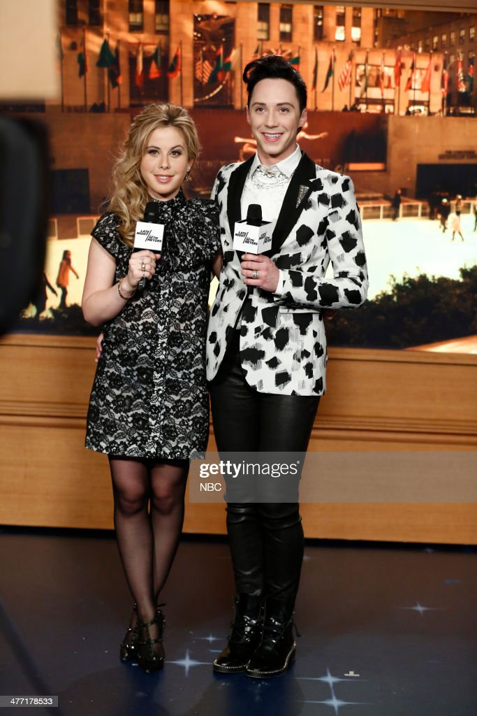 "NBC's ""Late Night With Seth Meyers"" With Guests Kenan Thompson, Johnny Weir, Tara Lipinski, Sarah Lewis"