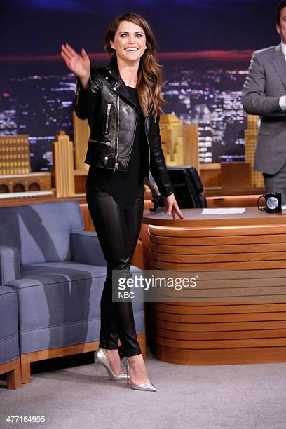 Actress Keri Russell arrives on March 7 2014