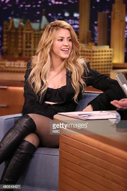Shakira on March 25 2014
