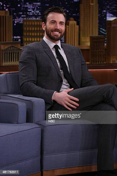 Actor Chris Evans on March 31 2014