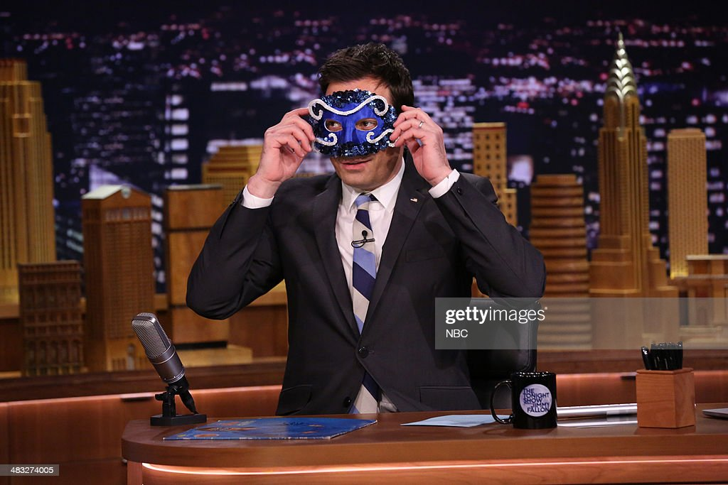 Host Jimmy Fallon on April 7, 2014 -- (Photo by: Nathaniel Chadwick/NBC/NBCU Photo Bank via Getty Images)..
