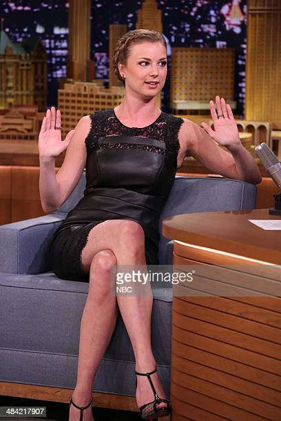 Actress Emily VanCamp on April 11 2014