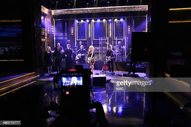 Musical guest Dolly Parton performs on May 13 2014