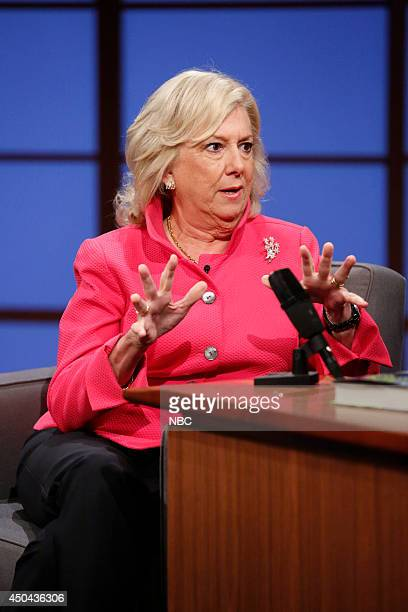 Author Linda Fairstein during an interview on June 10 2014