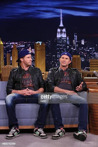Actor Will Ferrell and drummer Chad Smith on May 22 2014