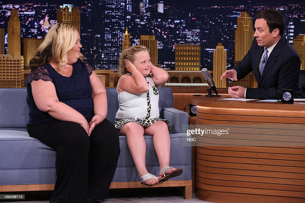 "NBC's ""Tonight Show Starring Jimmy Fallon"" with guests Barbara Walters, Mama June, Honey Boo Boo, Iliza Shlesinger"