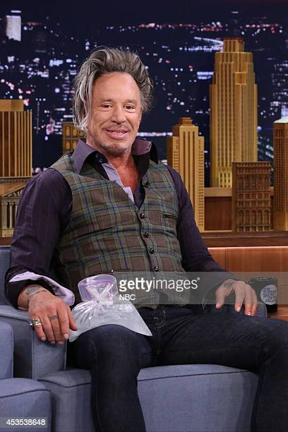 Actor Mickey Rourke on August 12 2014