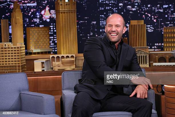 Actor Jason Statham on August 15 2014