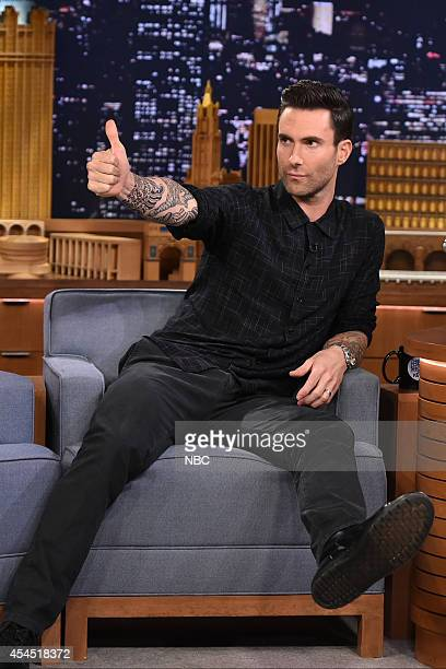 Musician Adam Levine on September 2 2014