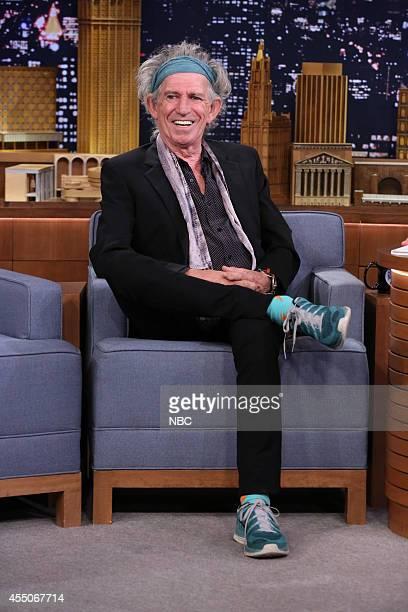Musician Keith Richards on September 9 2014