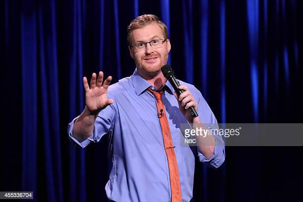 Comedian Kurt Braunohler performs on September 12 2014