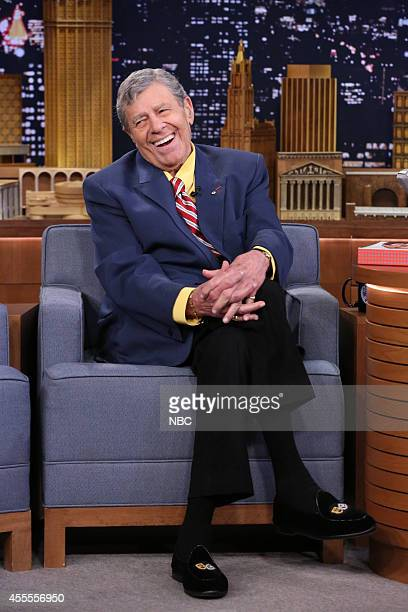 Comedian Jerry Lewis on September 16 2014