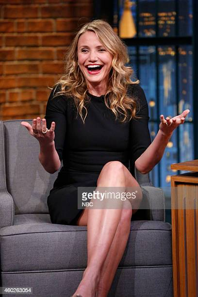 Episode 0138-- Pictured: Actress Cameron Diaz during an interview on December 10, 2014 --