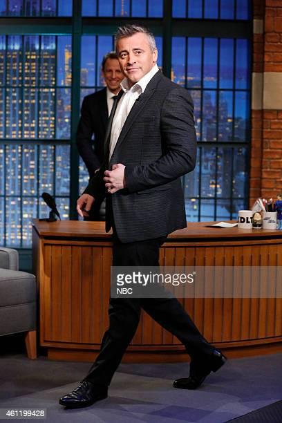 Actor Matt LeBlanc arrives on January 6 2015
