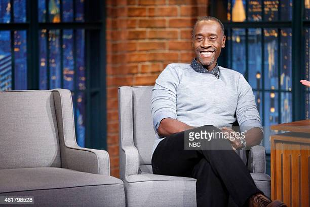 Actor Don Cheadle during an interview on January 19 2015