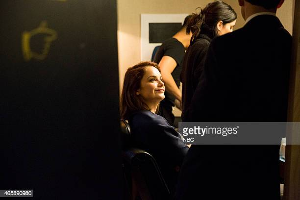 MEYERS Episode 0152 Pictured Actress Ruth Wilson backstage on January 19 2015