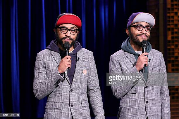 Comedians Kenny and Keith Lucas perform on October 31 2014