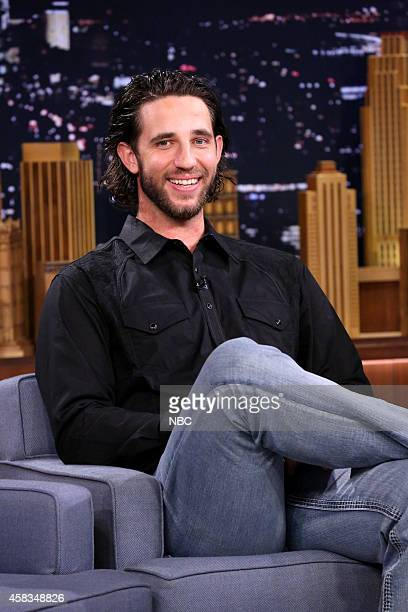 Professional baseball player Madison Bumgarner on November 3 2014