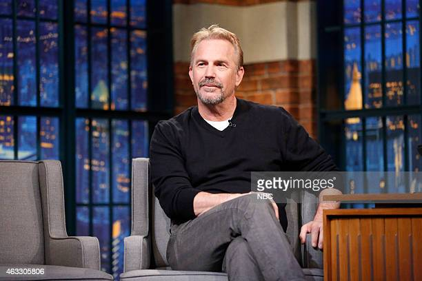 Episode 0163 -- Pictured: Actor Kevin Costner during an iterview on February 12, 2015 --