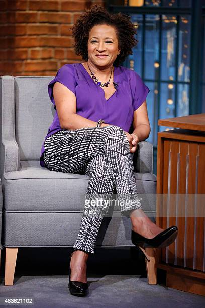Comedian Wanda Sykes during an inteview on February 16 2015