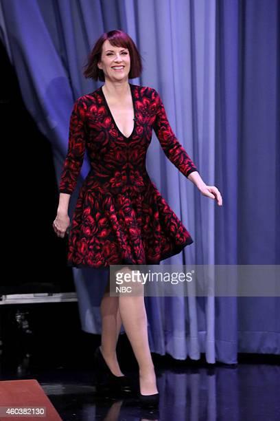 Actress Megan Mullally arrives on December 12 2014
