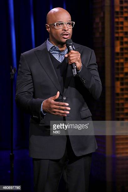 Comedian Damon Wayans performs on December 19 2014