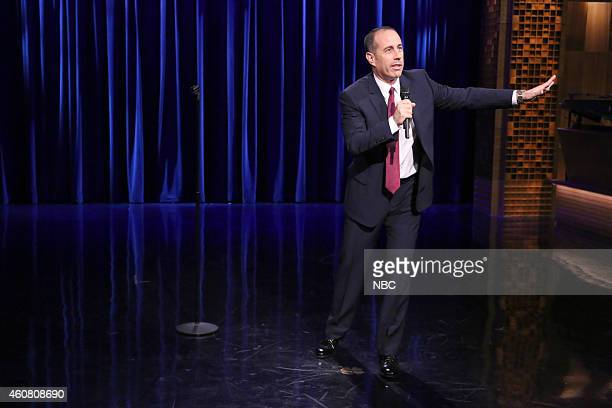 Comedian Jerry Seinfeld performs on December 23 2014