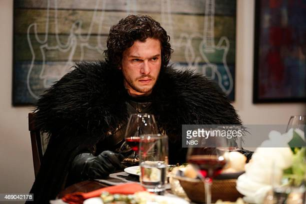 Episode 0188 -- Pictured: Kit Harrington as Jon Snow during the 'Game of Thrones' skit on April 2, 2015 --