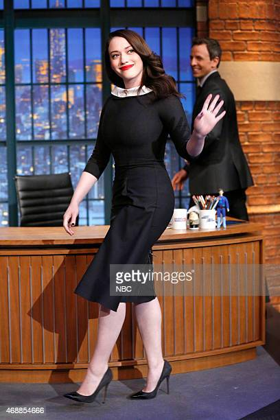 Actress Kat Dennings arrives on April 7 2015