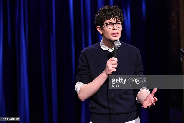 Comedian Simon Amstell performs on January 7 2015