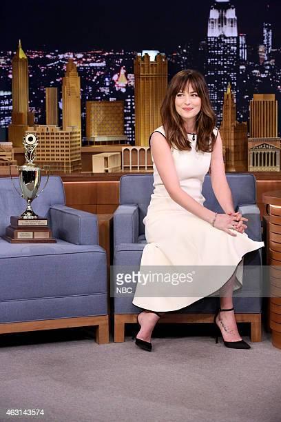 Actress Dakota Johnson on February 10 2015