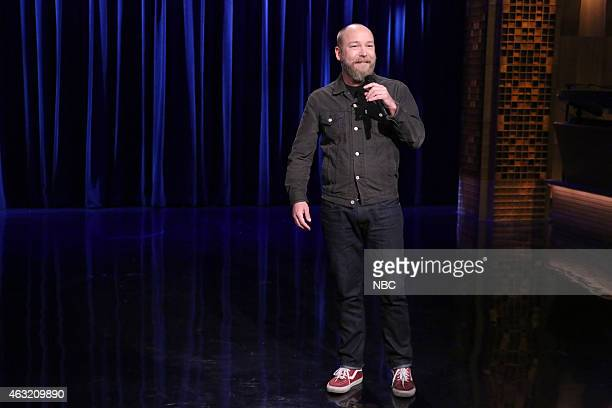 Comedian Kyle Kinane performs on February 11 2015