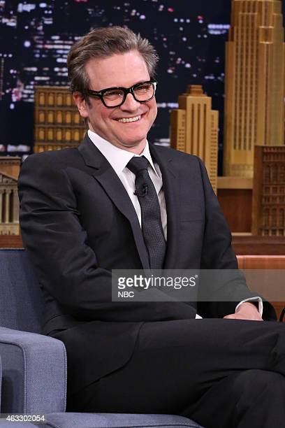 Actor Colin Firth on February 12 2015