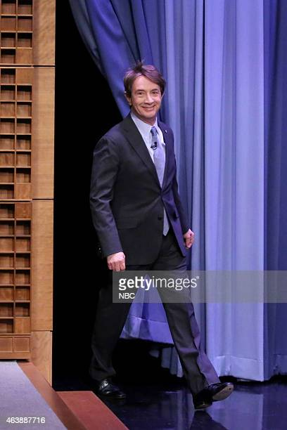 Actor Martin Short arrives on February 19 2015