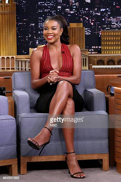 Actress Gabrielle Union on February 24 2015