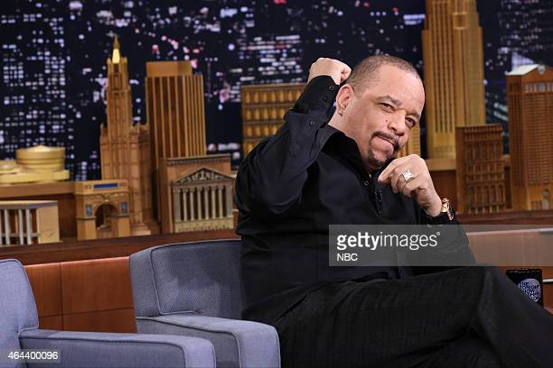Actor IceT on February 25 2015