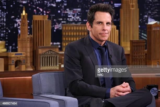 Actor Ben Stiller on March 19 2015
