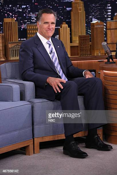 Politician Mitt Romney on March 25 2015