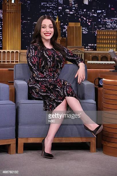Episode 0240 -- Pictured: Actress Kat Dennings on April 6, 2015 --