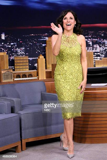 Actress Julia LouisDreyfus arrives on April 8 2015