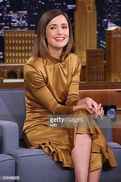 Actress Rose Byrne on April 20 2015