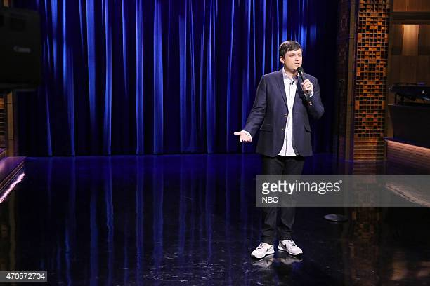 Comedian Nate Bargatze performs on April 21 2015