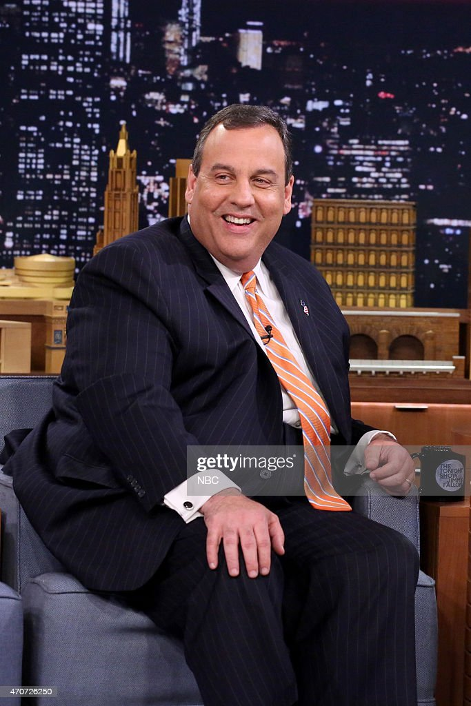 New Jersey Governor Chris Christie on April 22, 2015 --