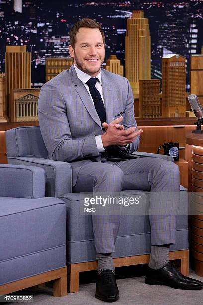 Actor Chris Pratt on April 24 2015