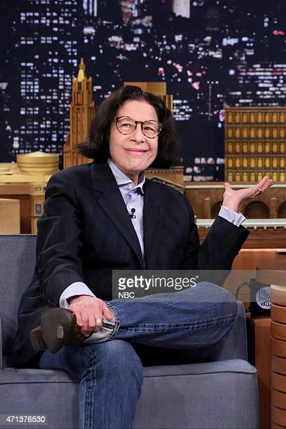Author Fran Lebowitz on April 27 2015