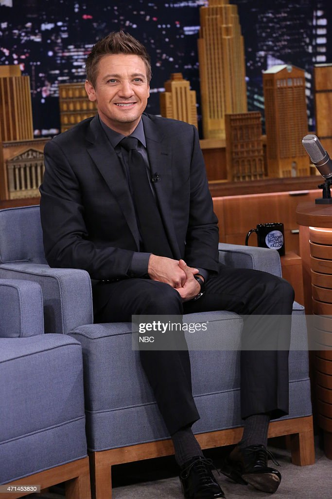 "NBC's ""Tonight Show Starring Jimmy Fallon"" with guests Jeremy Renner, Edie Falco, Tori Kelly"