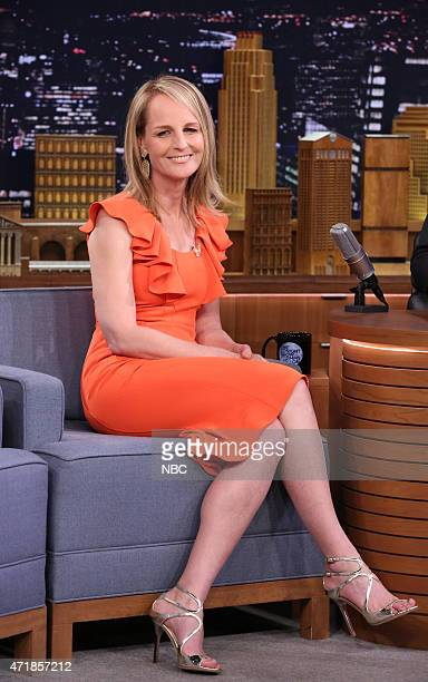 Actress Helen Hunt during an interview on May 1 2015
