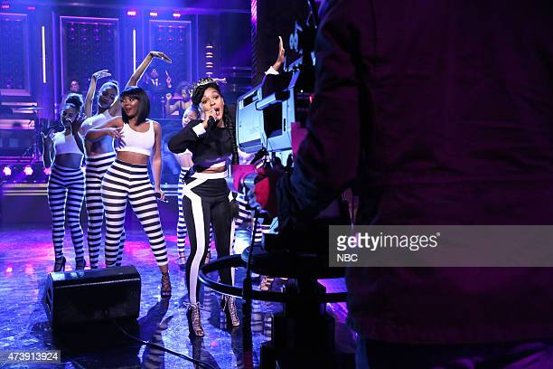 Musical guest Janelle Monae performs on May 18 2015