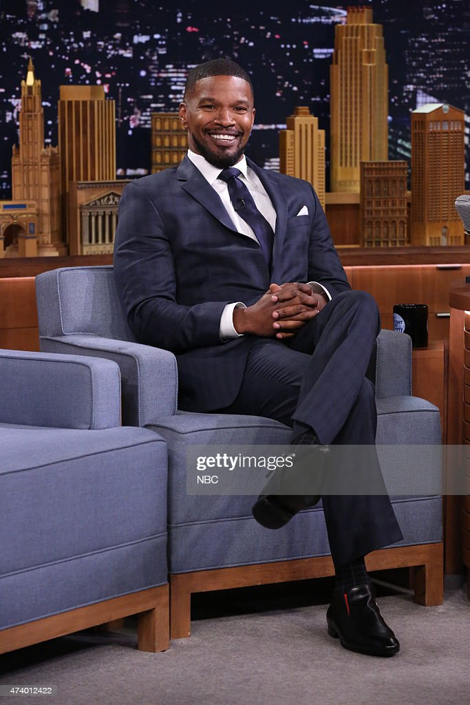 "NBC's ""Tonight Show Starring Jimmy Fallon"" with guests Jamie Foxx, Carla Gugino, Jamie Foxx featuring Kid Ink"
