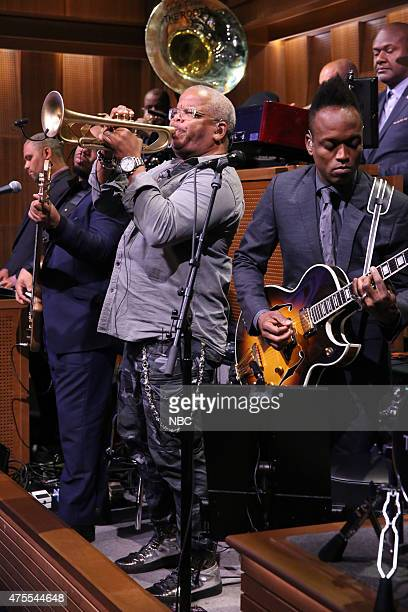 Musician Terence Blanchard performs with The Roots on June 1 2015
